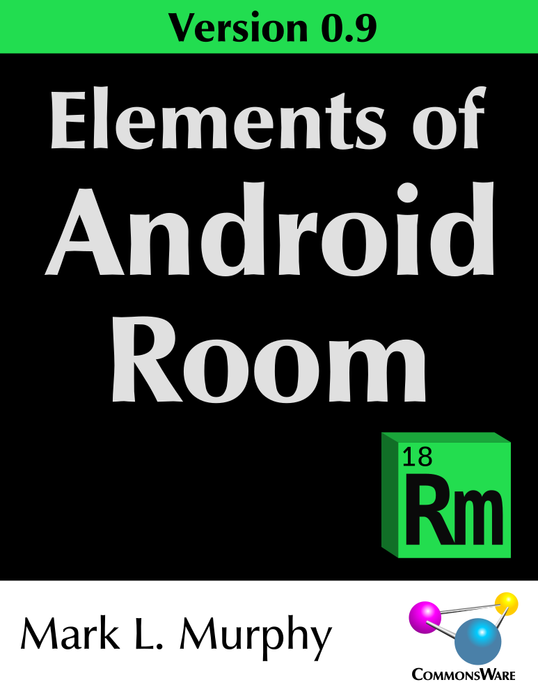 Elements of Android Room