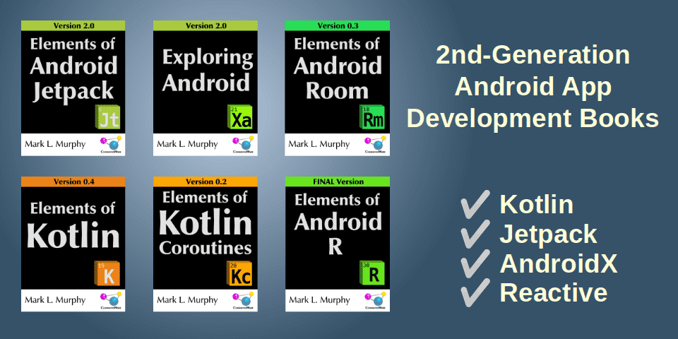 Android App Development Books
